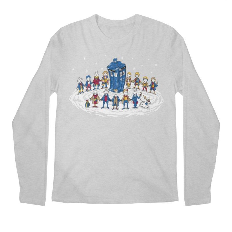 Doctor Whoville Men's Longsleeve T-Shirt by Ian Leino @ Threadless