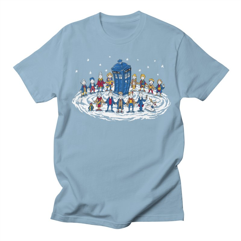 Doctor Whoville Men's Regular T-Shirt by Ian Leino @ Threadless