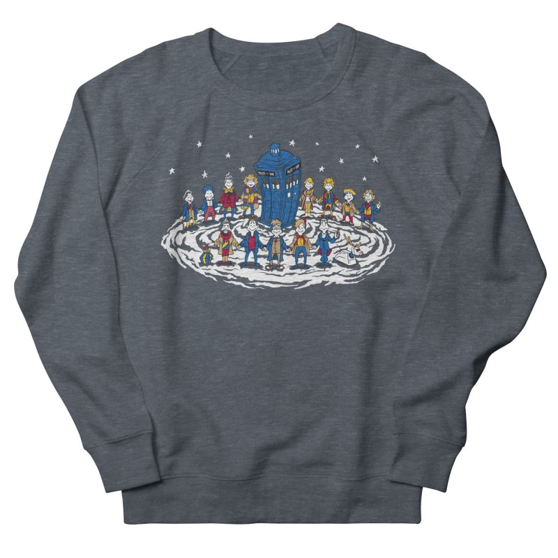 Doctor Whoville Men's Sweatshirt by Ian Leino @ Threadless