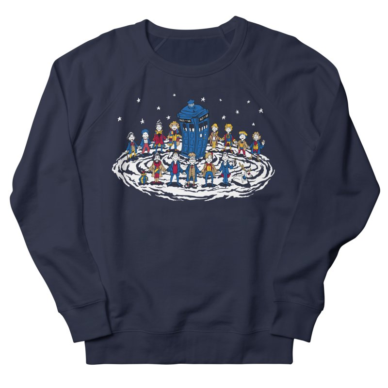Doctor Whoville Men's French Terry Sweatshirt by Ian Leino @ Threadless