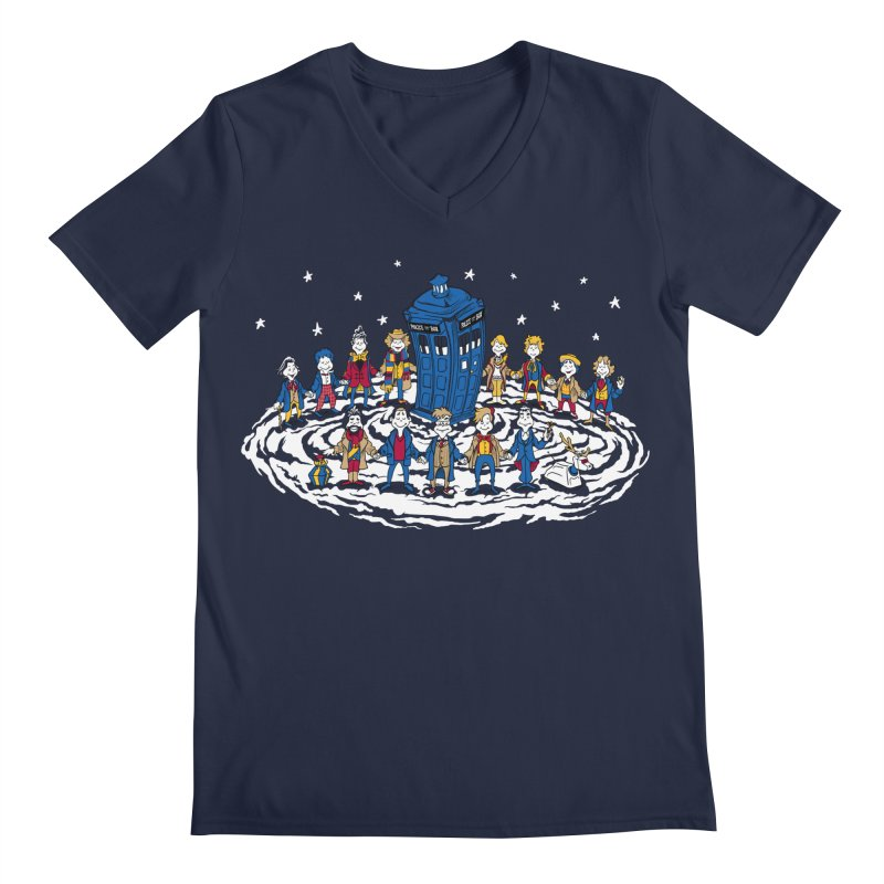 Doctor Whoville Men's V-Neck by Ian Leino @ Threadless