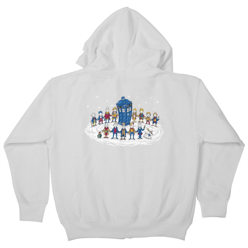 Doctor Whoville Kids Zip-Up Hoody by Ian Leino @ Threadless