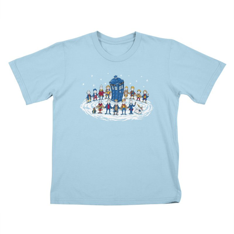 Doctor Whoville Kids T-Shirt by Ian Leino @ Threadless