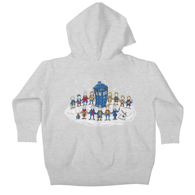 Doctor Whoville Kids Baby Zip-Up Hoody by Ian Leino @ Threadless