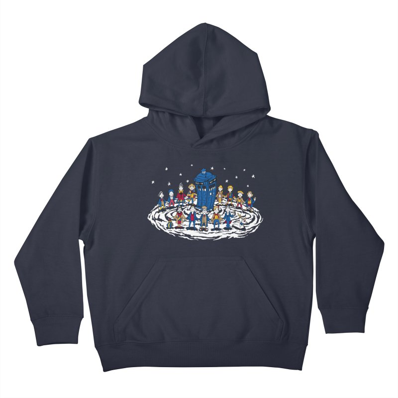 Doctor Whoville Kids Pullover Hoody by Ian Leino @ Threadless