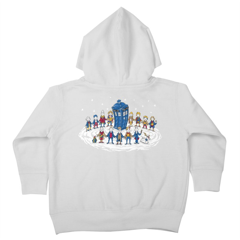 Doctor Whoville Kids Toddler Zip-Up Hoody by Ian Leino @ Threadless