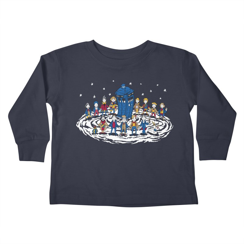Doctor Whoville Kids Toddler Longsleeve T-Shirt by Ian Leino @ Threadless