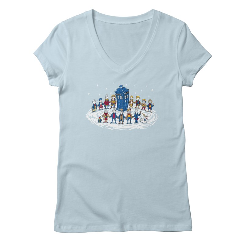 Doctor Whoville Women's V-Neck by Ian Leino @ Threadless