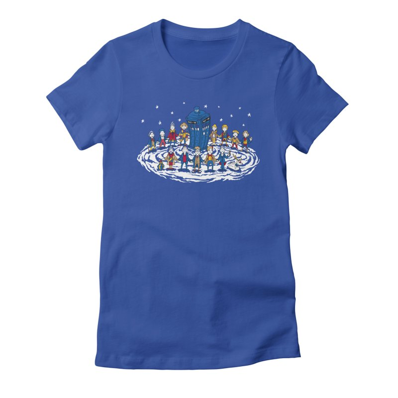 Doctor Whoville Women's Fitted T-Shirt by Ian Leino @ Threadless