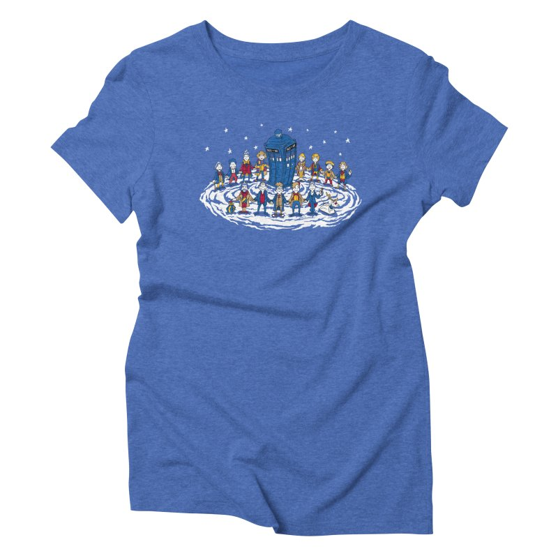 Doctor Whoville Women's Triblend T-Shirt by Ian Leino @ Threadless