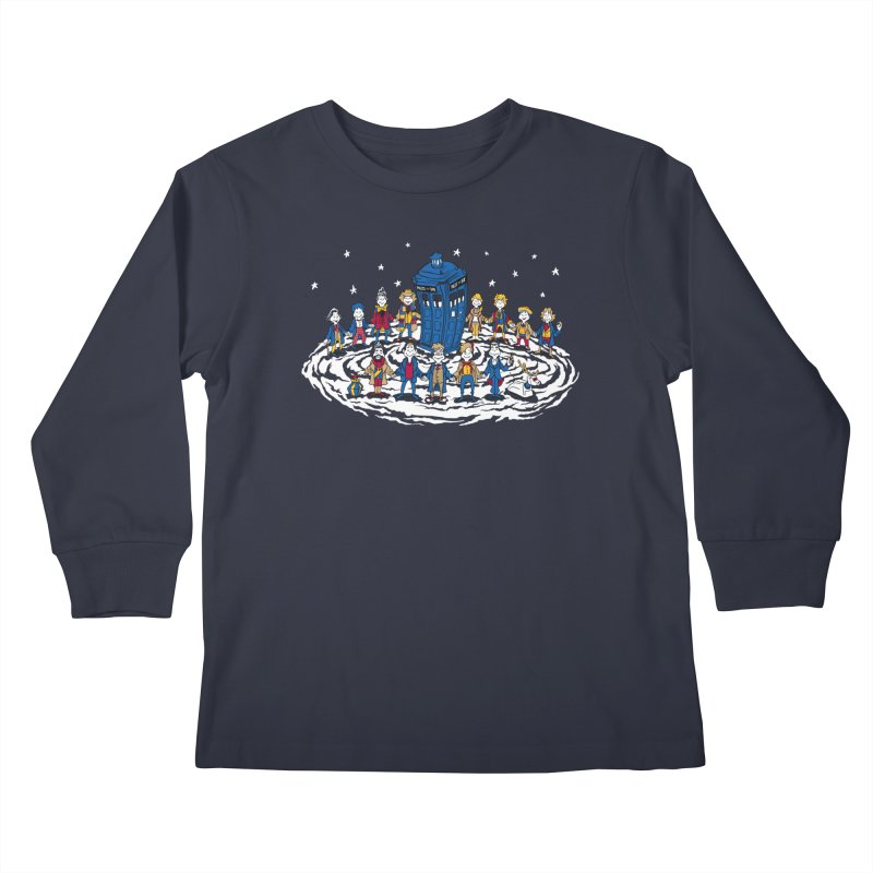 Doctor Whoville Kids Longsleeve T-Shirt by Ian Leino @ Threadless