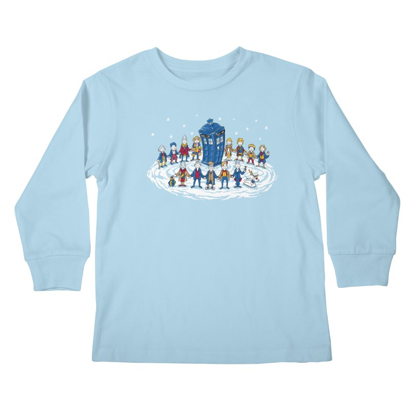 Doctor Whoville Kids Longsleeve T-Shirt by Ian Leino @ Threadless