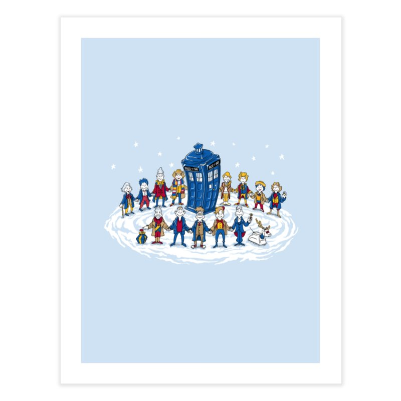 Doctor Whoville Home  by Ian Leino @ Threadless