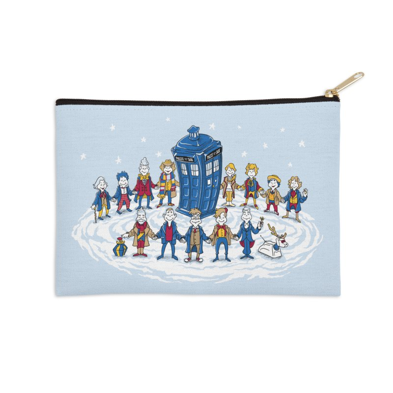 Doctor Whoville Accessories Zip Pouch by Ian Leino @ Threadless