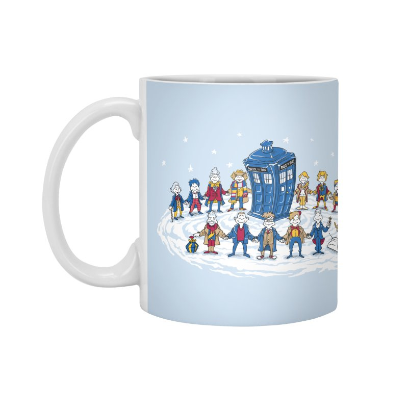 Doctor Whoville Accessories Mug by Ian Leino @ Threadless