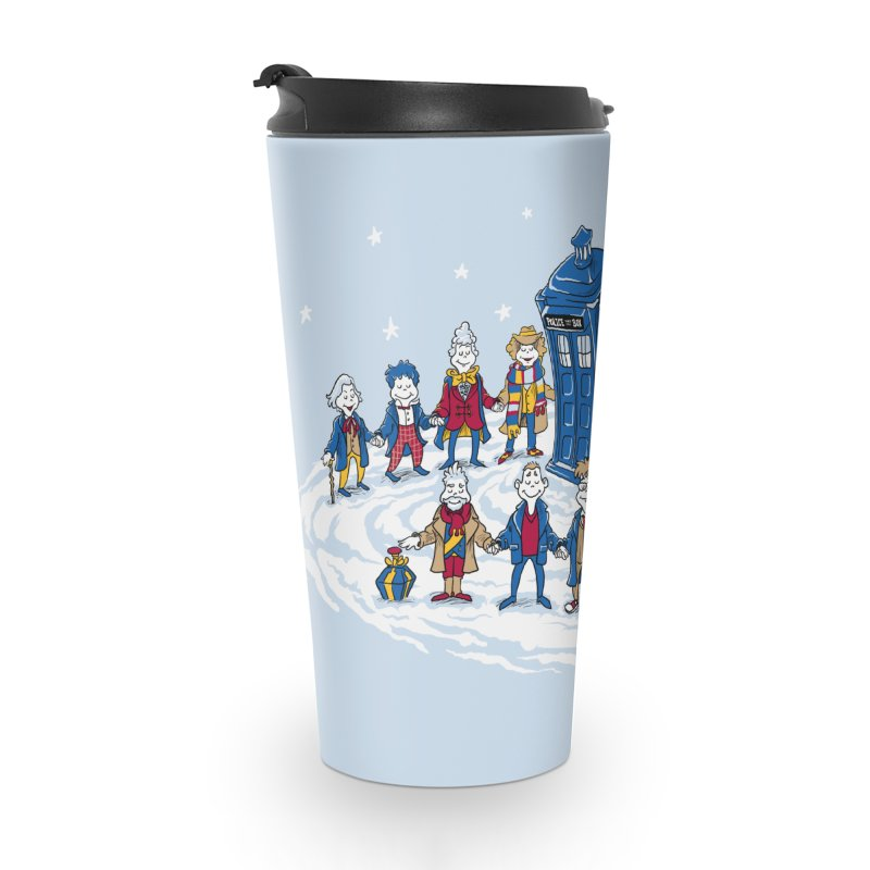 Doctor Whoville Accessories Travel Mug by Ian Leino @ Threadless