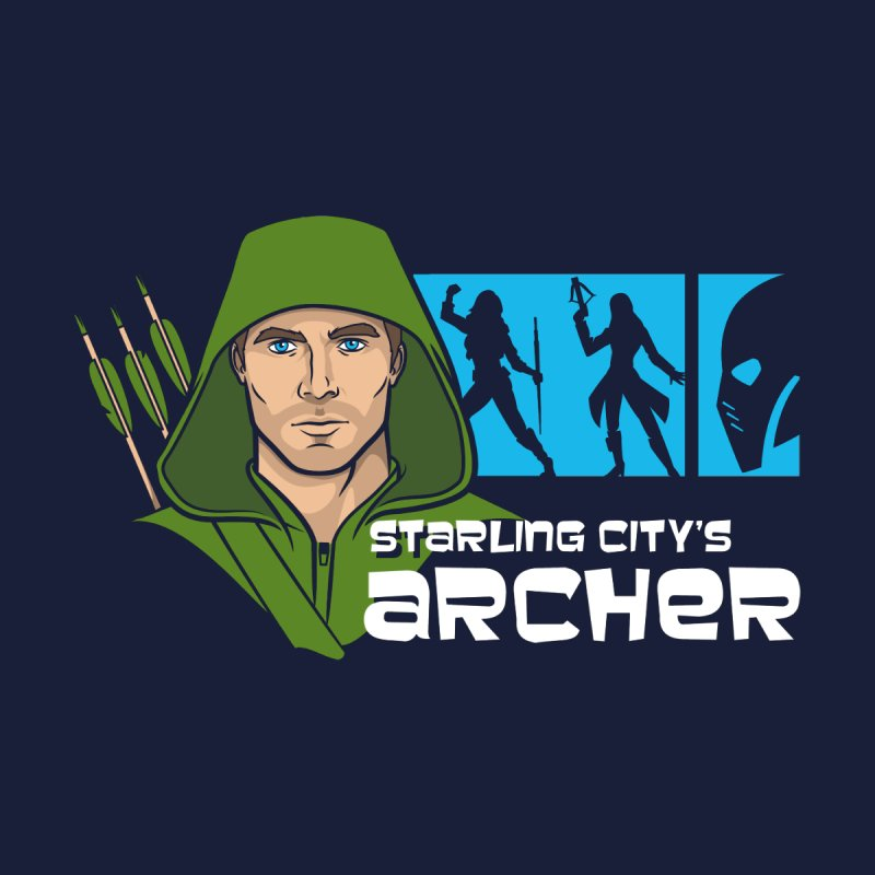 Starling Archer Men's T-Shirt by Ian Leino @ Threadless