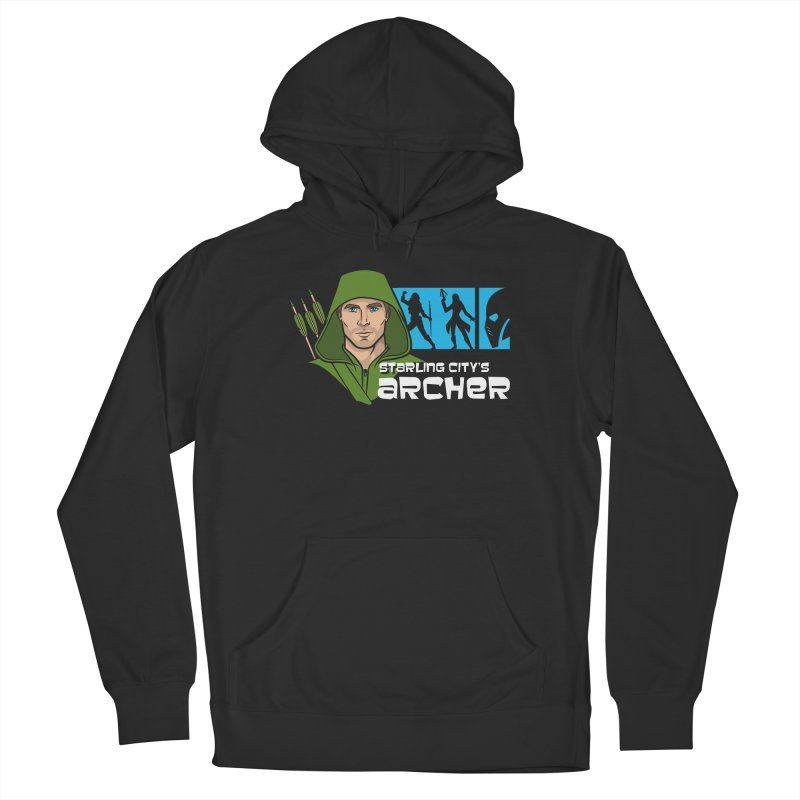 Starling Archer Women's Pullover Hoody by Ian Leino @ Threadless
