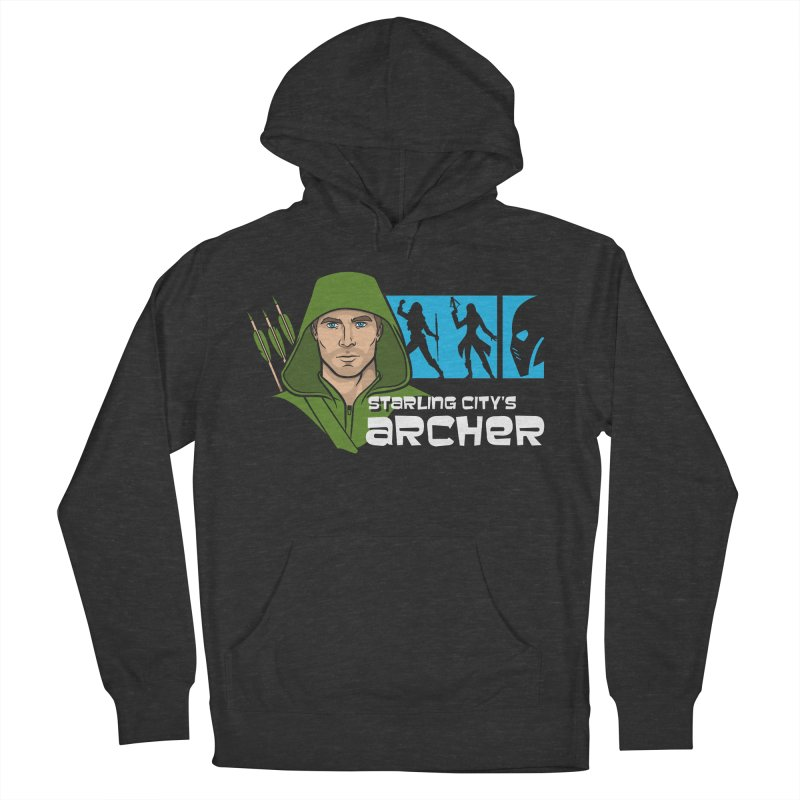 Starling Archer Women's French Terry Pullover Hoody by Ian Leino @ Threadless