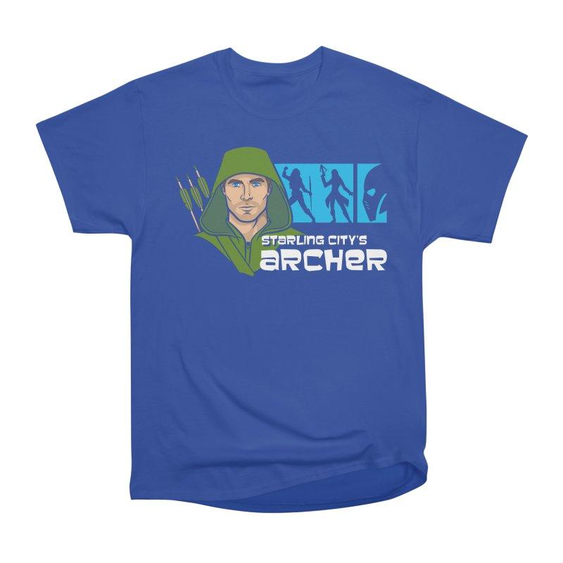 Starling Archer Women's Heavyweight Unisex T-Shirt by Ian Leino @ Threadless