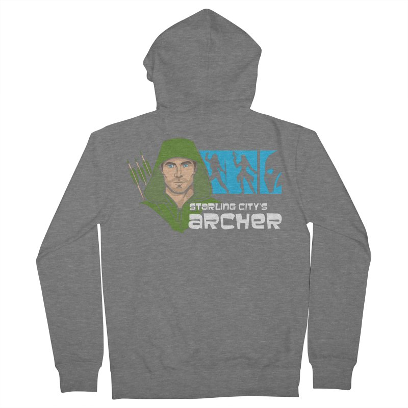 Starling Archer Women's French Terry Zip-Up Hoody by Ian Leino @ Threadless