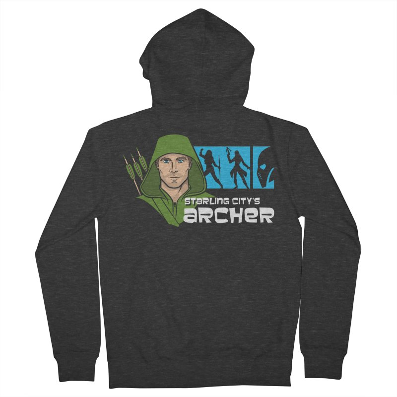 Starling Archer Men's Zip-Up Hoody by Ian Leino @ Threadless