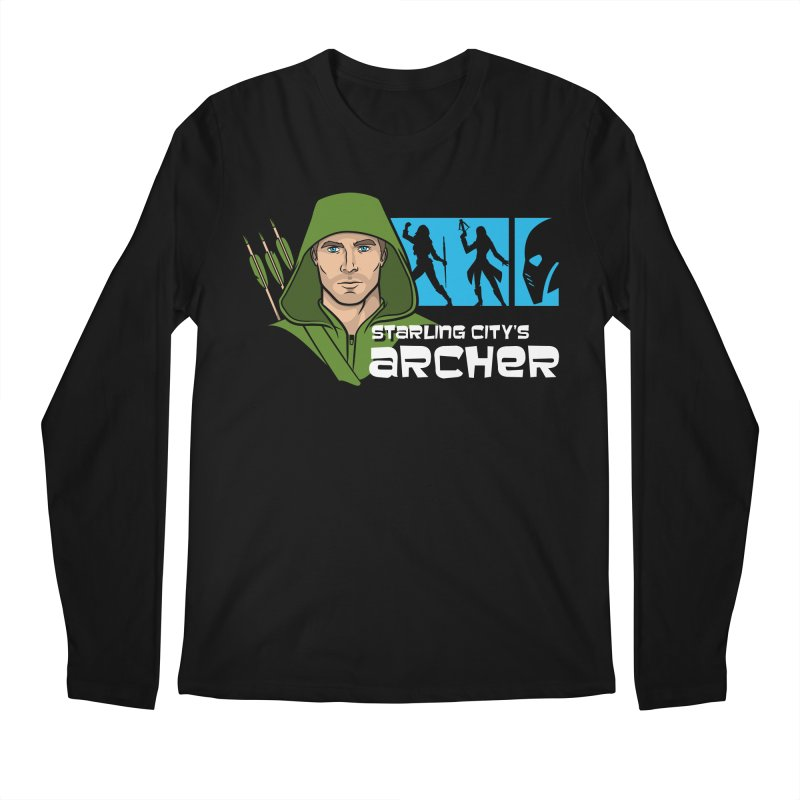 Starling Archer Men's Longsleeve T-Shirt by Ian Leino @ Threadless