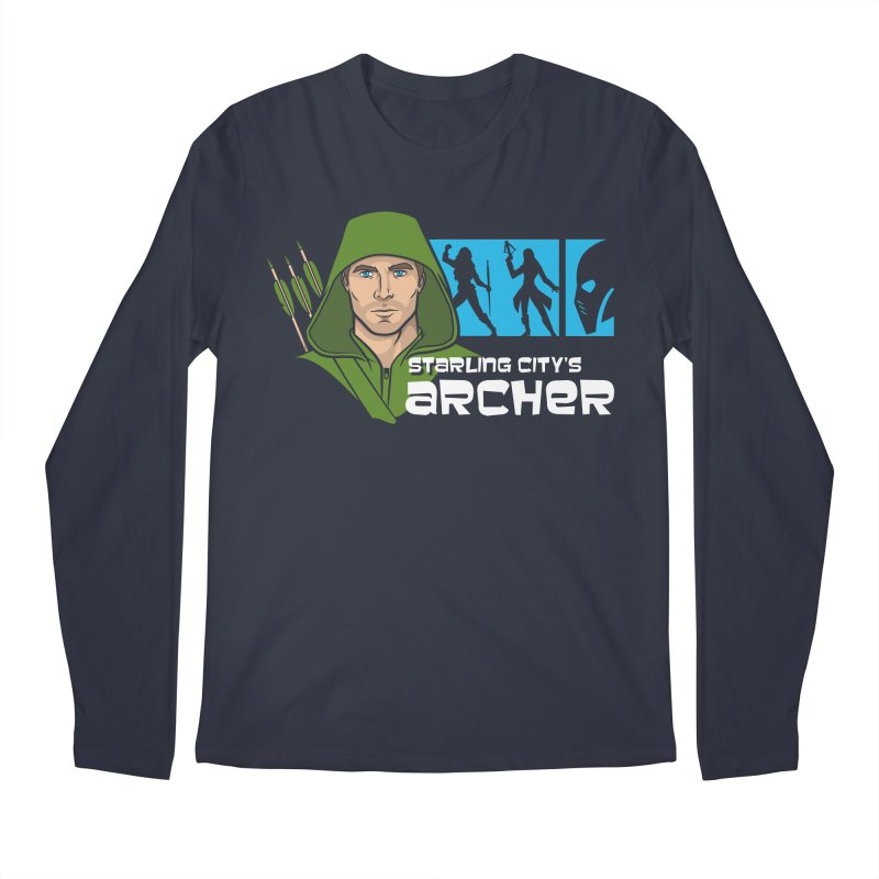 Starling Archer Men's Regular Longsleeve T-Shirt by Ian Leino @ Threadless