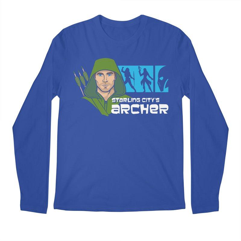 Starling Archer Men's Longsleeve T-Shirt by Ian Leino @ Threadless