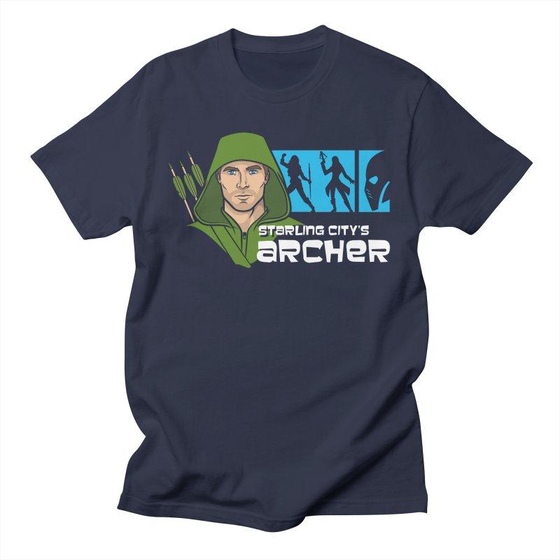 Starling Archer Men's T-Shirt by Ian Leino @ Threadless