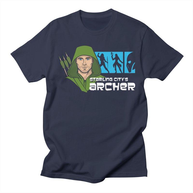 Starling Archer Men's Regular T-Shirt by Ian Leino @ Threadless