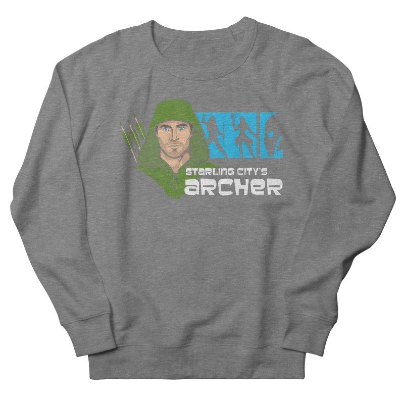 Starling Archer Men's French Terry Sweatshirt by Ian Leino @ Threadless