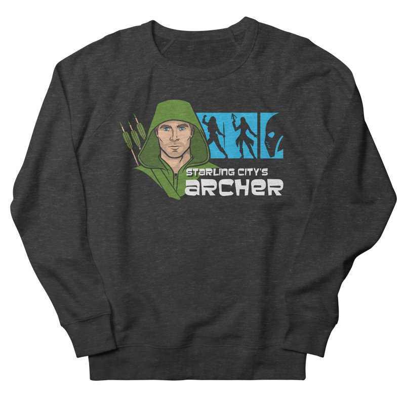 Starling Archer Men's Sweatshirt by Ian Leino @ Threadless