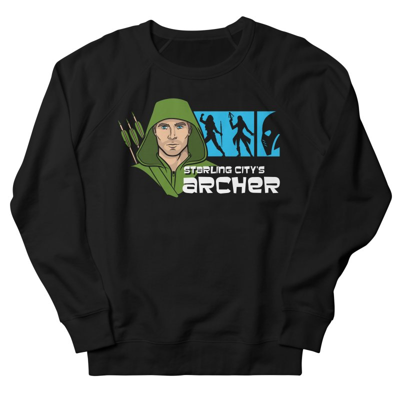 Starling Archer Men's French Terry Sweatshirt by Ian Leino @ Threadless