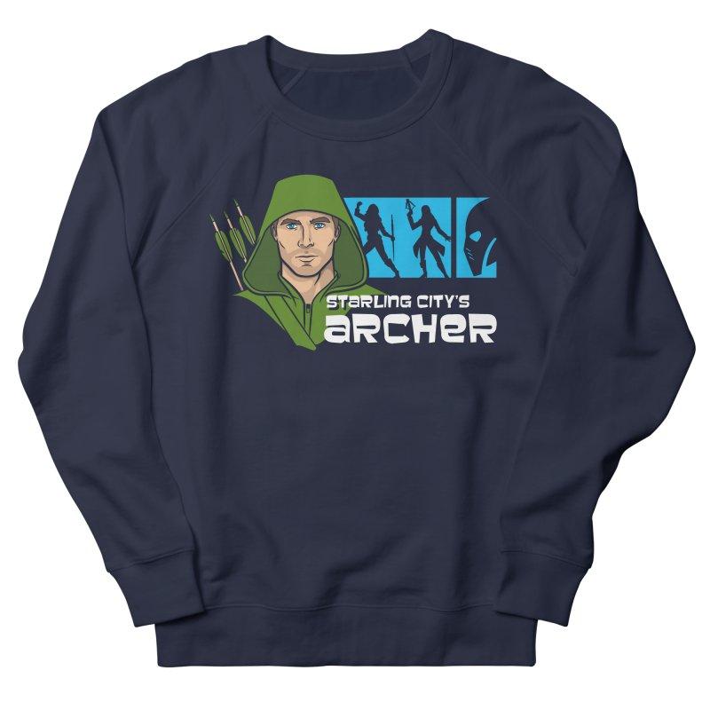 Starling Archer Men's Sweatshirt by Ian Leino @ Threadless