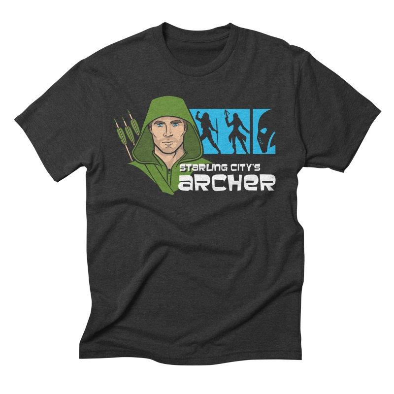 Starling Archer Men's Triblend T-shirt by Ian Leino @ Threadless