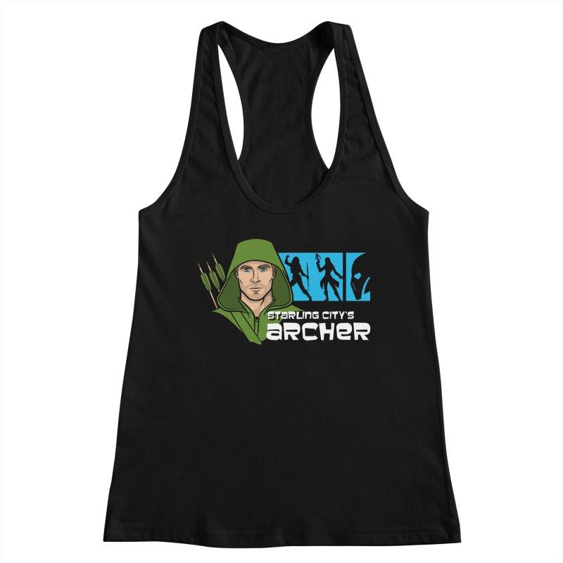 Starling Archer Women's Tank by Ian Leino @ Threadless