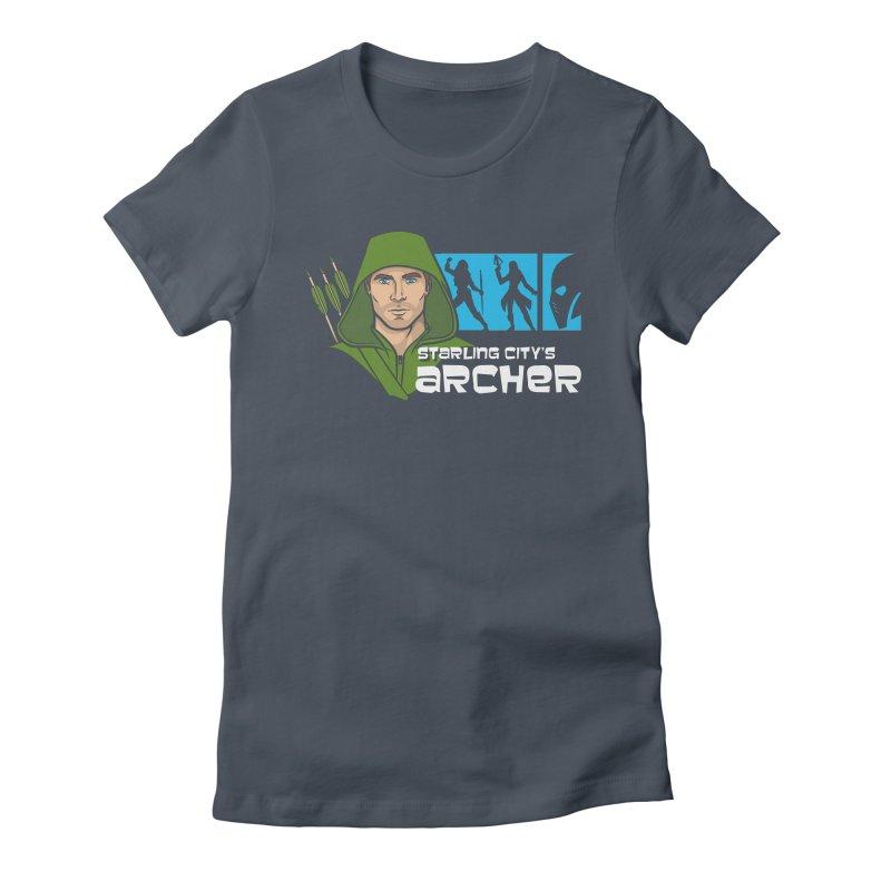 Starling Archer Women's T-Shirt by Ian Leino @ Threadless