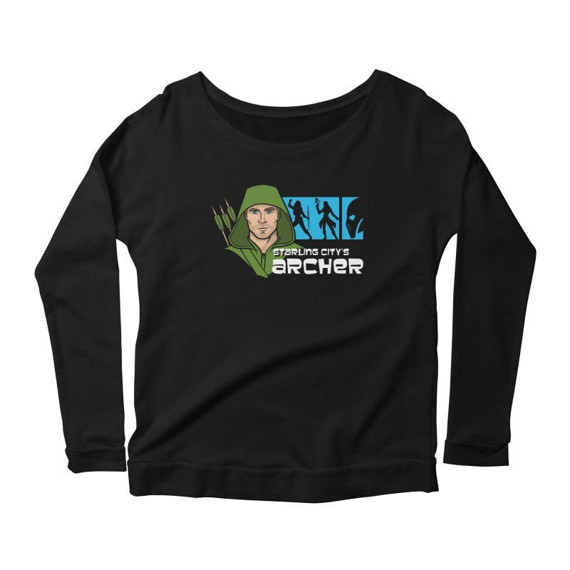 Starling Archer Women's Scoop Neck Longsleeve T-Shirt by Ian Leino @ Threadless