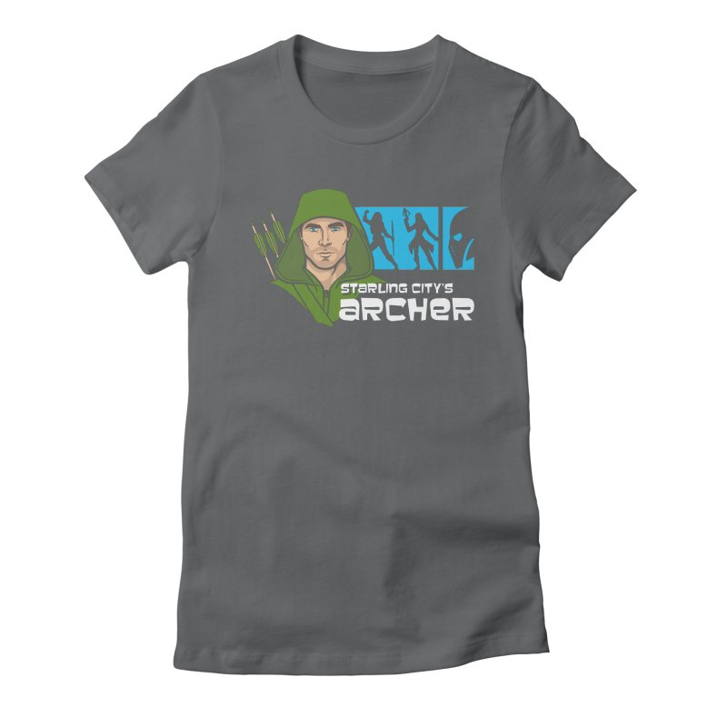 Starling Archer Women's Fitted T-Shirt by Ian Leino @ Threadless