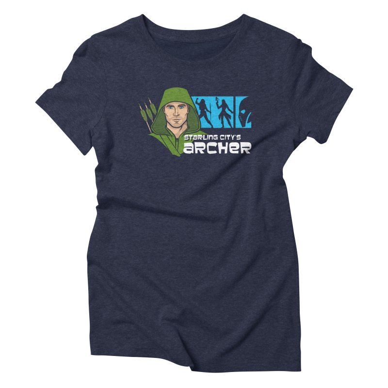 Starling Archer Women's Triblend T-shirt by Ian Leino @ Threadless