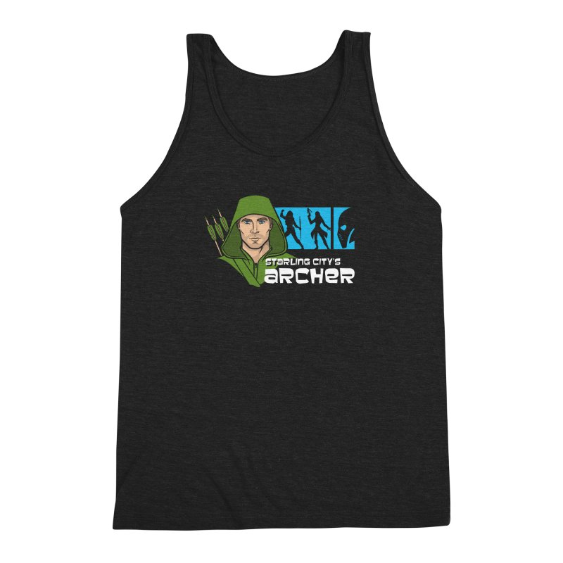 Starling Archer Men's Triblend Tank by Ian Leino @ Threadless