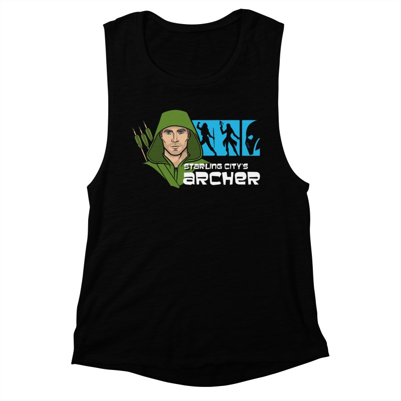Starling Archer Women's Muscle Tank by Ian Leino @ Threadless