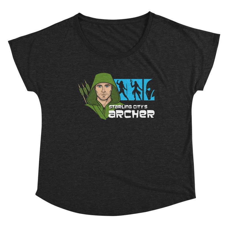 Starling Archer Women's Scoop Neck by Ian Leino @ Threadless