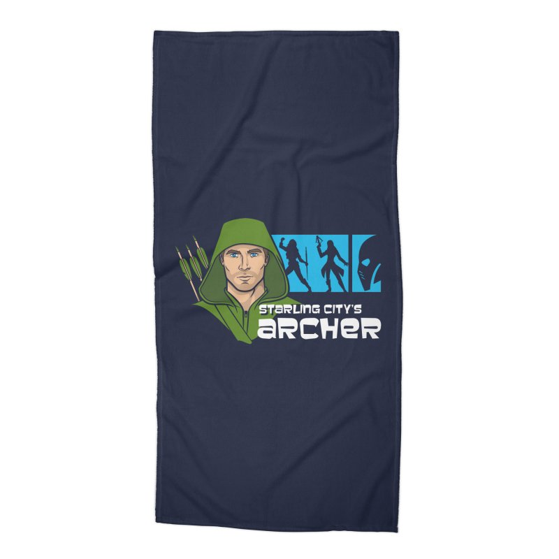 Starling Archer Accessories Beach Towel by Ian Leino @ Threadless