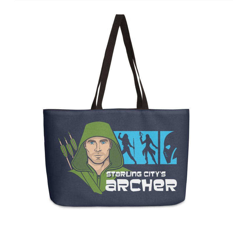 Starling Archer Accessories Weekender Bag Bag by Ian Leino @ Threadless