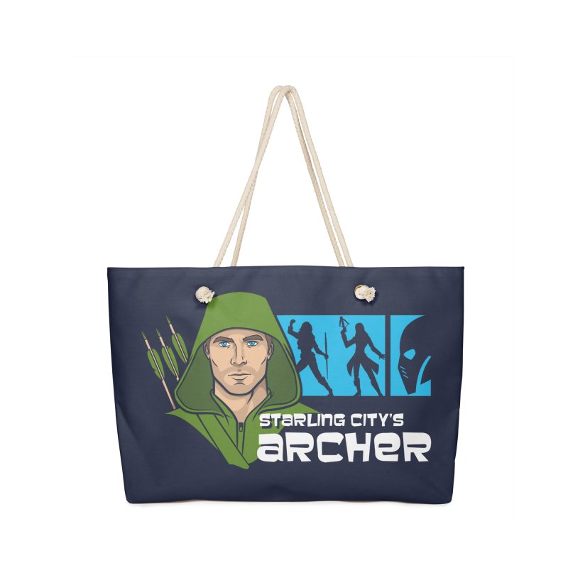 Starling Archer Accessories Bag by Ian Leino @ Threadless