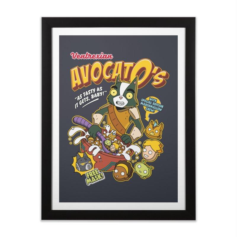 Avocato's Cereal Home Framed Fine Art Print by Ian J. Norris