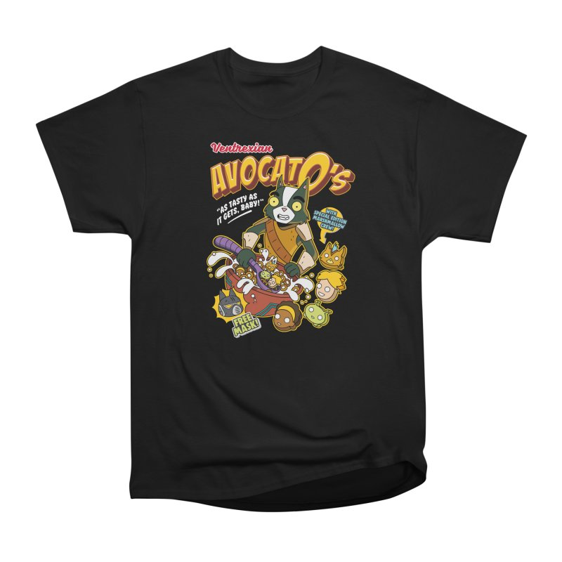 Avocato's Cereal Women's T-Shirt by Ian J. Norris