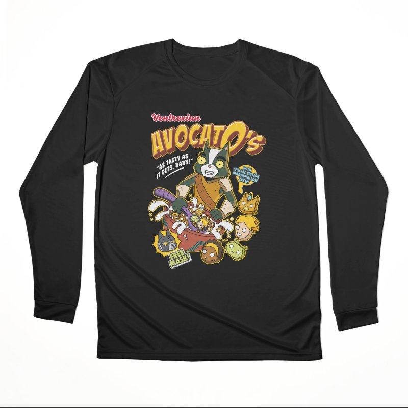 Avocato's Cereal Women's Longsleeve T-Shirt by Ian J. Norris